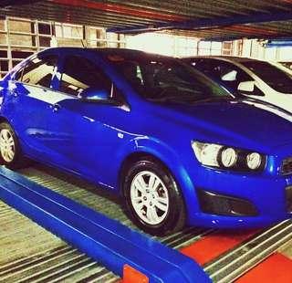 2015 Chevrolet Sonic A/T Oceanic Blue