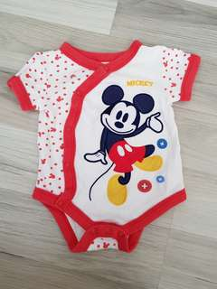 0-3months Disney baby mickey mouse romwpr