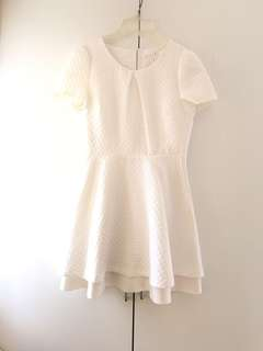 Bread n Butter white dress with ribbons