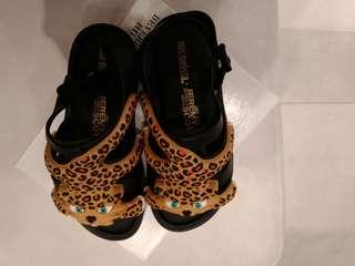 Mini melissa shoes flox + jeremy scott