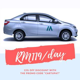 PROMOTION! Perodua Bezza RM119/day