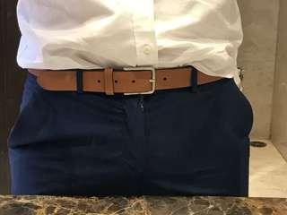 Zara Man belt brown size 90