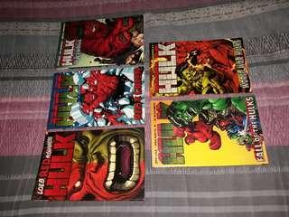 Hulk TPBs by Jeph Loeb