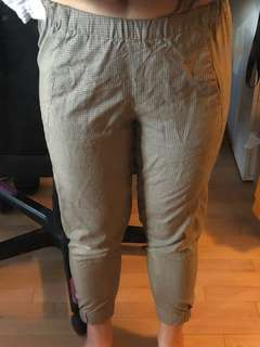 Aritzia Checkered Dexter Pants Size XS