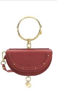 Chloe Nile half moon bag 手袋