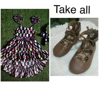 MTO DRESS AND OLD NAVY SHOES
