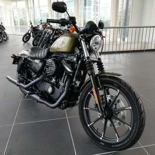 Harley-Davidson Sportster XL883N Iron JAPAN unreg 2016