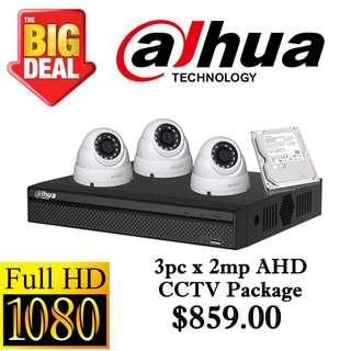 Dahua 1080P Analog CCTV Package 3