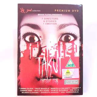 Takut: Faces Of Fear DVD