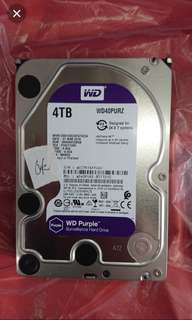 WTS Wd 4tb purple Sata Hdd $120 Used with warranty 2021