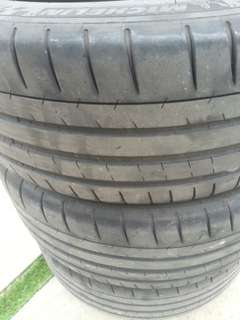 215 45 17 MICHELIN TIRE