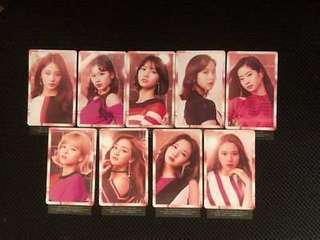 [PO] TWICE Wake Me Up punched photocard