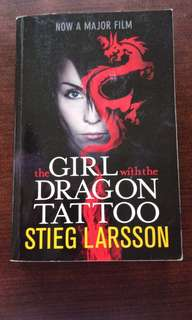 The girl with dragon tattoo by stieg larsson