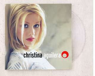Christina Aguilera - Christina Self Titled Limited Clear Vinyl