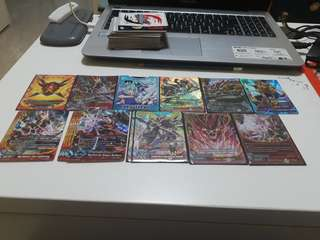Buddyfight Thunder Empire Deck