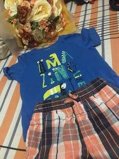 Match tshirt&pants