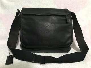 Coach 全牛皮 Messenger bag