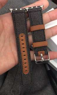 Apple Watch 42mm深色牛仔款錶帶