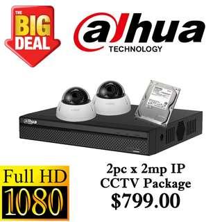 Dahua 2MP Internet Protocol CCTV Package 2