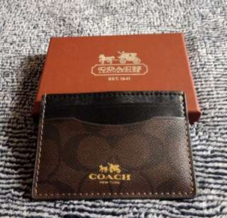 COACH cards wallet (Authentic)