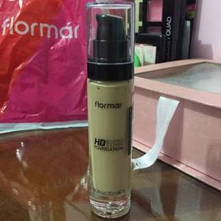 NEW Disc 50% Flormar HD Invisible Cover Foundation