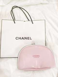 Chanel Pink Pouch