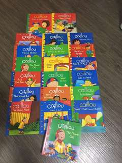 Caillou ( 20 books ) Bn