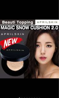 ✨🔥NEW April skin magic snow cushion 2.0
