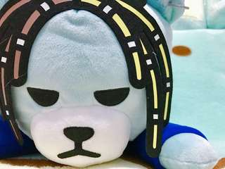 KOAOISORA 2018 KRUNK x BIGBANG - Super BIG Sleeping Plushy 超BIG寝そべりぬいぐるみ 38cm SOL 景品公仔 (全新)