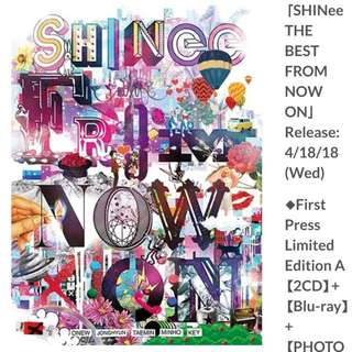 SHINEE - THE BEST FROM NOW ON Japanese Release