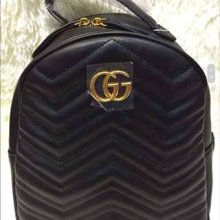 GUCCI MARMONT QUILTED BACKPACK