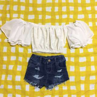 Set 3 piece OOTD clothes for toddlers/kids