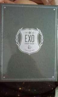 🚚 全新未拆exo 's first box dvd