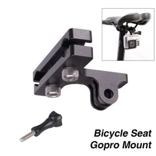 Bicycle Seat Alu Mount for Gopro