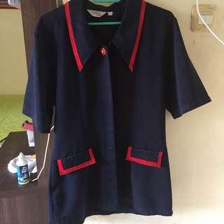 Top blouse kantoran