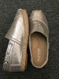 🚚 尺碼33可愛涼銀童鞋