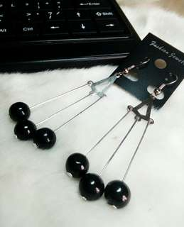 Ready !!! Anting Mutiara Hitam