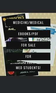 List of Med Ebooks AVAILABLE - Medical/Medicine Books Reviewers