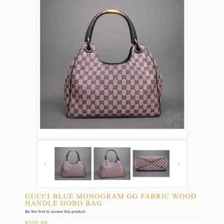 47fe4f74320 Gucci Hobo bag with wooden handle