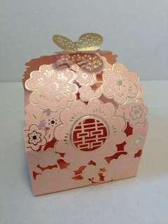 立體結婚回禮禮物小盒子30 個
