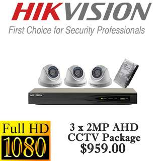 HIKvision 1080P Analog CCTV Package 3