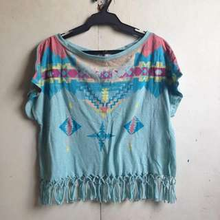Just G Fringe Top
