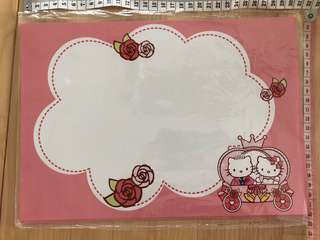Cute hello kitty wedding cards decoration decor