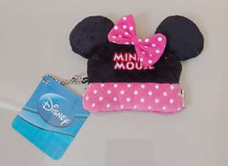 Minnie Mouse Purse Key Chain