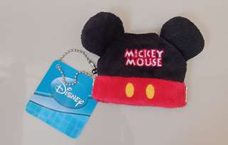 Mickey Mouse Purse Key Chain