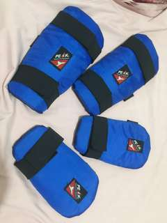 Arm and Shin Guards Taekwondo