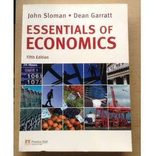 Essentials of Economics by John Sloman & Dean Garratt