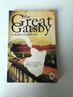 The great gatsby by f.scott Fitzgerald