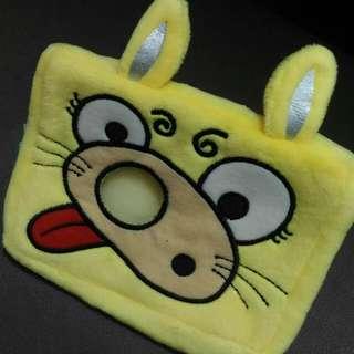 🚚 黃色兔子面紙套濕紙巾套