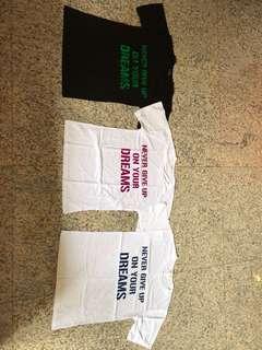 T-Shirt (Black & White)